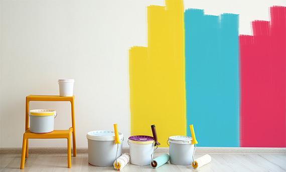 عوامل مؤثر در دستمزد نقاشی ساختمان
