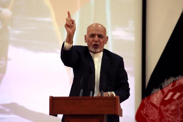 اشرف غنی: تمام مواد توافقنامه آمریکا و طالبان مشروط است