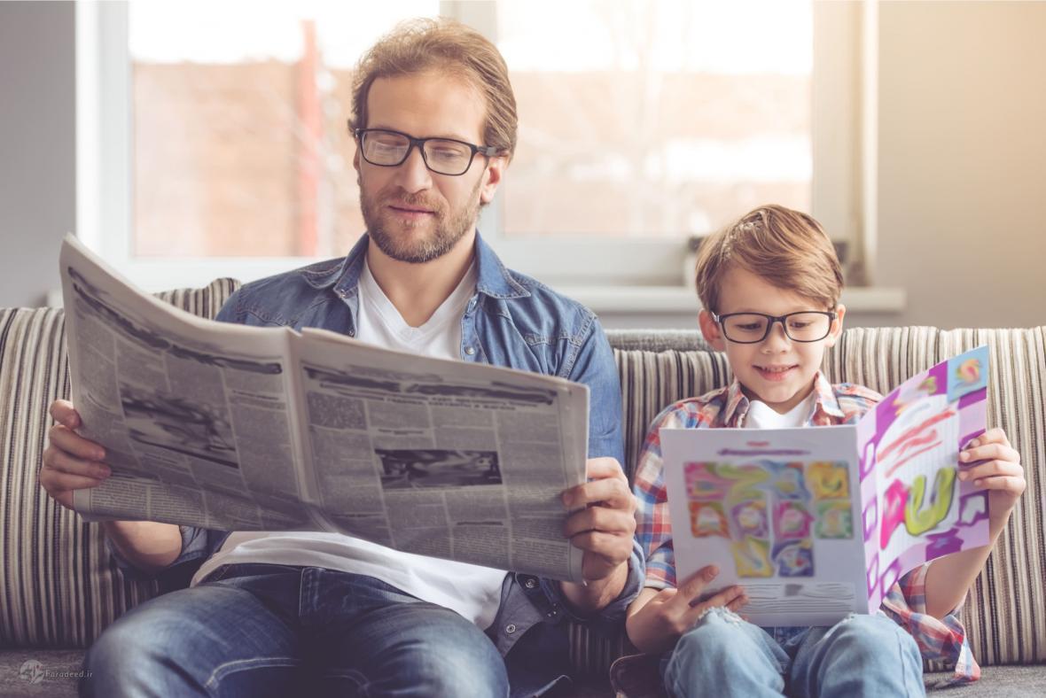 چگونه یک کودک کتابخوان و علاقه مند به مطالعه تربیت کنیم؟