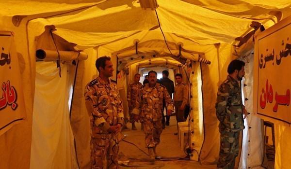 آمادگی ارتش برای راه اندازی بیمارستان صحرایی